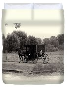 Amish Buggy Sept 2013 Duvet Cover