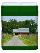 Amish Farm Duvet Cover