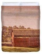 Amish Farm Duvet Cover