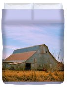 Amish Metal Barn Duvet Cover