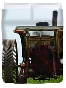 Amish Tractor Duvet Cover