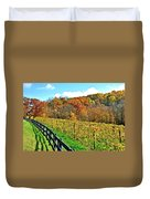 Amish Vinyard Two Duvet Cover