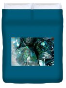 Ammonite Seascape Duvet Cover