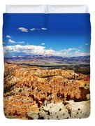 Among The Canyon Duvet Cover