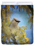 Among The Catkins Duvet Cover
