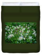 Among The Lillies Duvet Cover