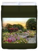 Among The Roses Duvet Cover by Jessica Jenney