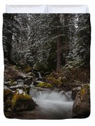 Amongst The Trees And Stones Duvet Cover