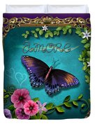Amore - Butterfly Version Duvet Cover