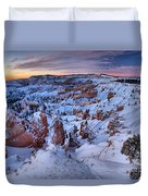Amphitheater Sunrise Duvet Cover