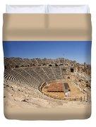 Amphitheatre In Side Turkey Duvet Cover