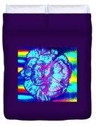 Amplified Flower Duvet Cover