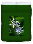 Amsonia Blue Stars Duvet Cover