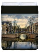 Amsterdam Bridges Duvet Cover