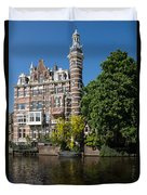 Amsterdam Canal Mansions - The Dainty Tower Duvet Cover