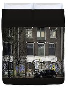 Amsterdam Graffiti Duvet Cover