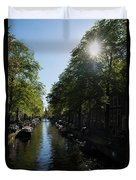 Amsterdam Spring - Green Sunny And Beautiful Duvet Cover