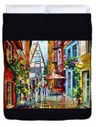 Amsterdam Street Duvet Cover