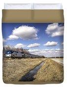 Amtrak 66  Duvet Cover