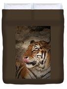 Amur Tiger 3 Duvet Cover by Ernie Echols