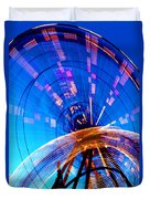 Amusement Park Rides 1 Duvet Cover