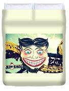 Amusement Smile Duvet Cover