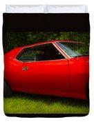 Amx Muscle Car Duvet Cover
