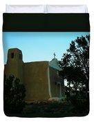 An Adobe Church In New Mexico Duvet Cover