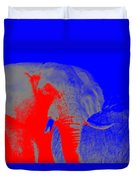 an Afternoon in Africa Duvet Cover