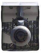 An Agm-65 Maverick Missile Mounted Duvet Cover