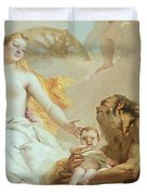 An Allegory With Venus And Time Duvet Cover