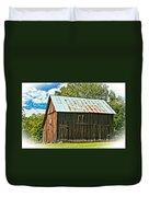 An American Barn 2 Oil Duvet Cover