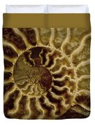 An Ancient Ammonite Pattern Iv Duvet Cover