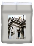 An Angel In Rome Duvet Cover
