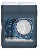An Apparition Of The Moon  Duvet Cover