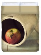 An Apple A Day... Duvet Cover by Amy Weiss