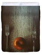 An Apple A Day Duvet Cover