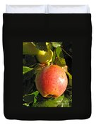 An Apple After Frost Duvet Cover
