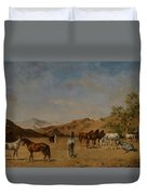 An Arabian Camp Duvet Cover