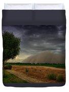 An Arizona Dust Storm  Duvet Cover