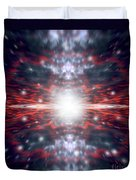 An Artists Depiction Of The Big Bang Duvet Cover by Marc Ward
