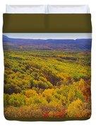 An Autumn Carpet Duvet Cover