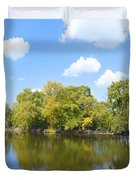 An Autumn Day Duvet Cover