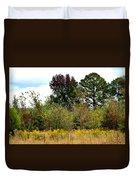 An Autumn Day In Alabama Duvet Cover
