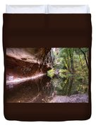 An Autumn Day In West Fork  Duvet Cover
