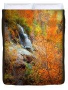 An Autumn Falls Duvet Cover