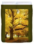 An Autumn Walk - 2 Duvet Cover