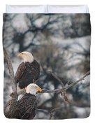 An Eagle Pair  Duvet Cover