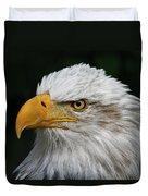 An Eagle's Portrait Duvet Cover
