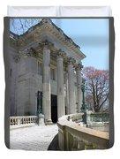 An Elegant Newport Mansion Duvet Cover